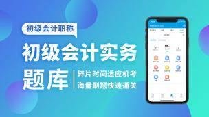 2019 初级会计实务题库 (电脑端入口,app直接进学习-题库做题)