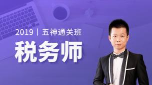 2019年税务师五神通关班-五科联报