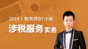 2019年税务师BT小班-涉税服务实务